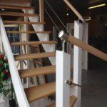 escalier sur mesure bois aluminium