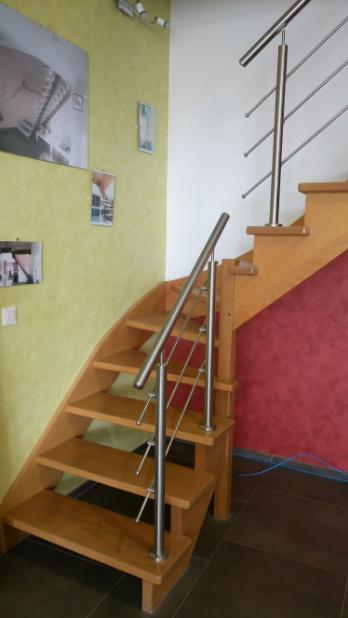 fabricant escalier sur mesure en bois aluminium oise aisne somme compiegne noyon roye ham saint quentin soissons