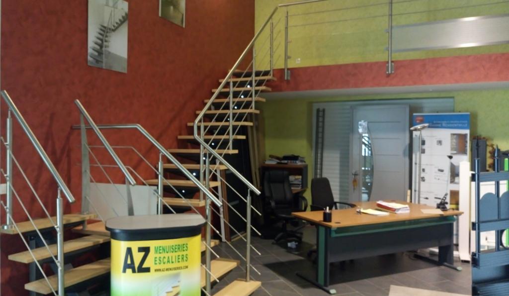 fabricant escalier sur mesure garde corps fer aluminium bois oise aisne somme compiegne noyon roye ham saint quentin soissons
